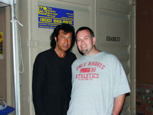 Andy Kim with Rik McNeil of KOOL 93.1 (KQOL)