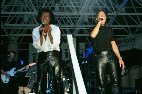Andy Kim and Ron Dante, 07/03/2002, Clearwater, FL