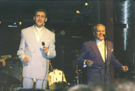 Bobby Valli and Joey Dee at Storman's 02/03/2005