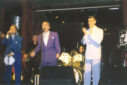 David, Joey, Bobby - Joey Dee & the Starliters!